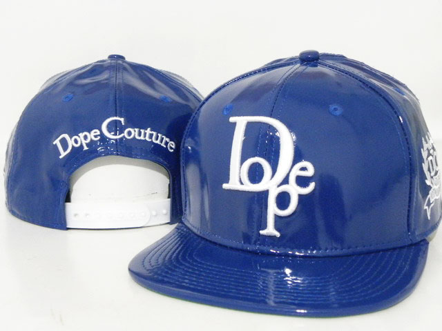 DOPE Snapback leather hat DD08