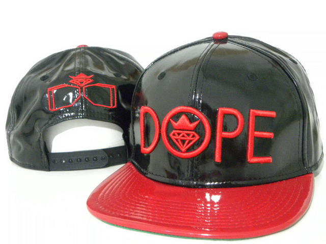 DOPE Snapback leather hat DD09