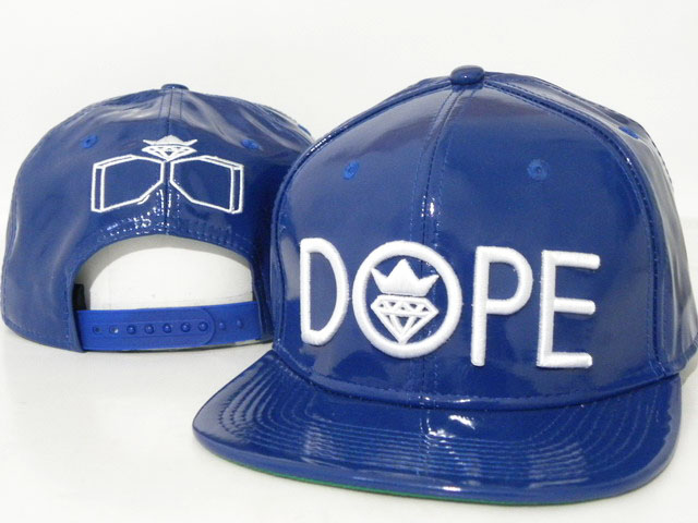DOPE Snapback leather hat DD10