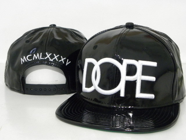 DOPE Snapback leather hat DD12