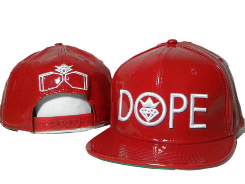 DOPE Snapback leather hat DD13