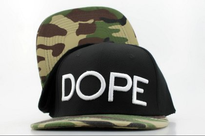 DOPE Snapback leather hat QH a