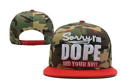Sorry I am Dope And Your Not Hat XDF-1