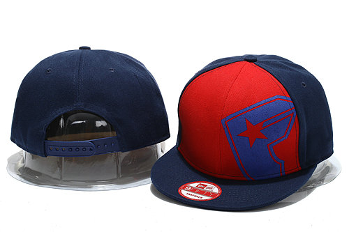FAMOUS Navy Snapback Hat YS 0721