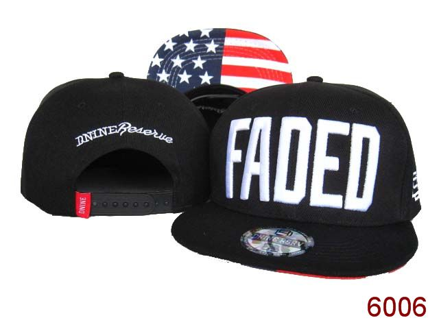 Faded Snapback Hat SG