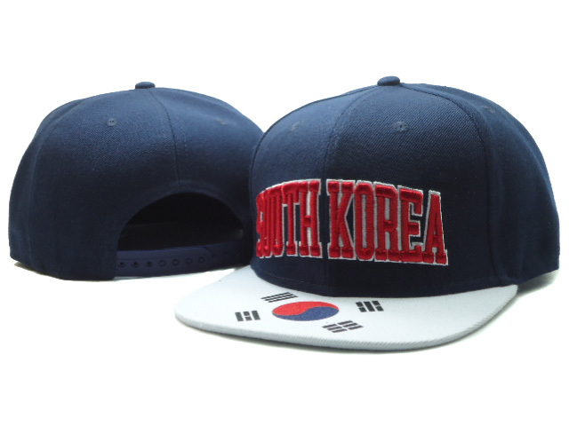 Blue Snapback Hat SF