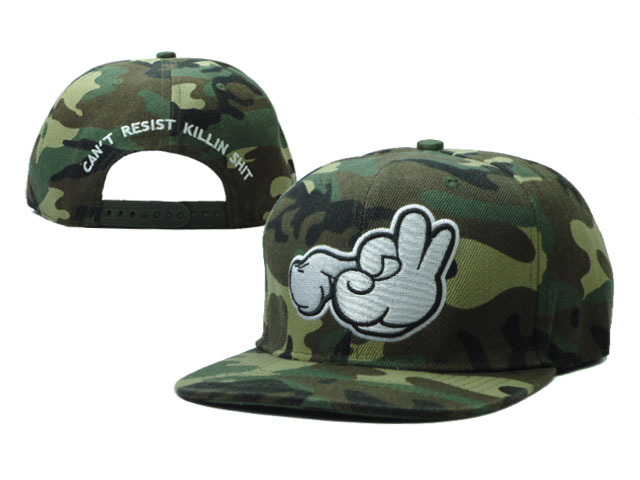 Can not Resist Killin Shit Snapback Hat SF 0512