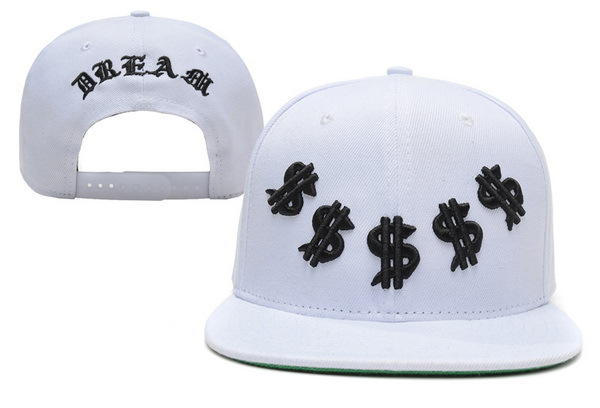 Dream White Snapback Hat XDF