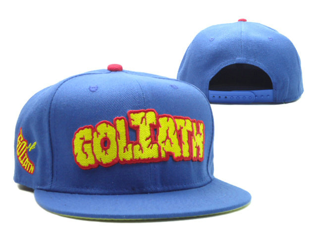Goliath Blue Snapback Hat SF