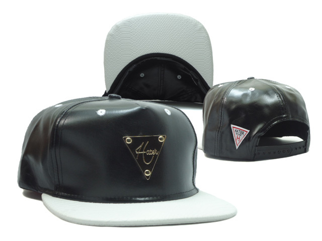 HATER Black Snapback Hat SF 1