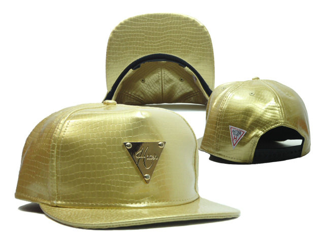 HATER Gold Snapbacks Hat SF