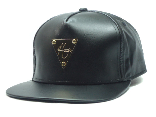 HATER Black Snapback Hat SF