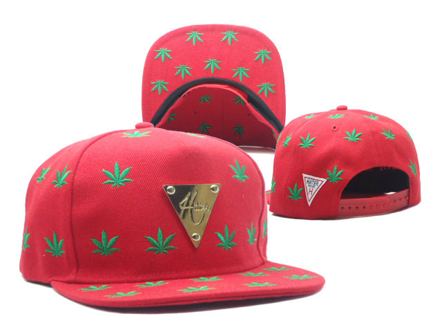 HATER Red Snapbacks Hat SF