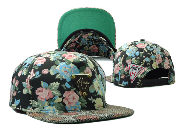 HATER Snapbacks Hat SF 18