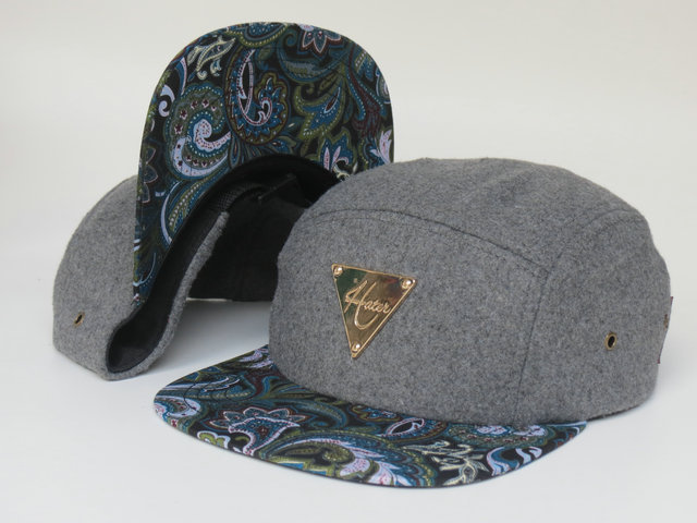HATER Grey Snapbacks Hat LS