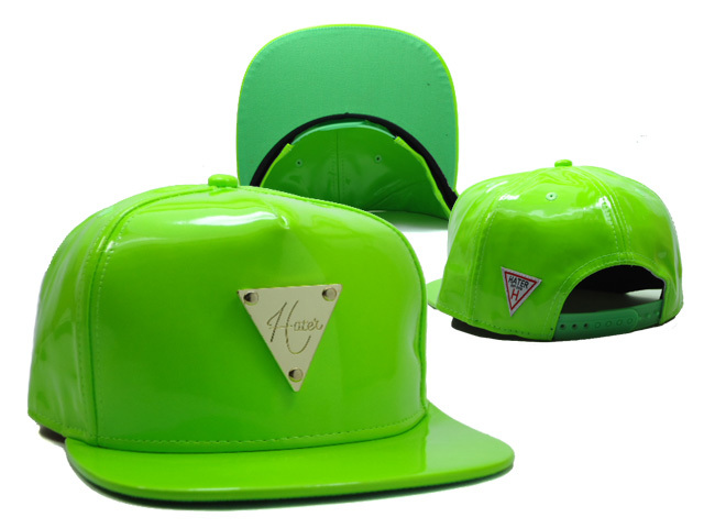HATER Green Snapback Hat SF 0613