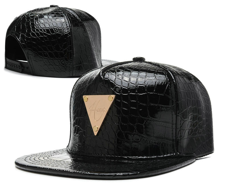 HATER Black Snapback Hat SD