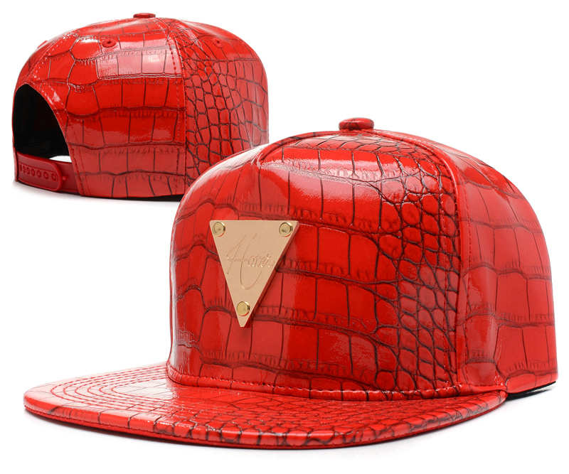 HATER Red Snapback Hat SD