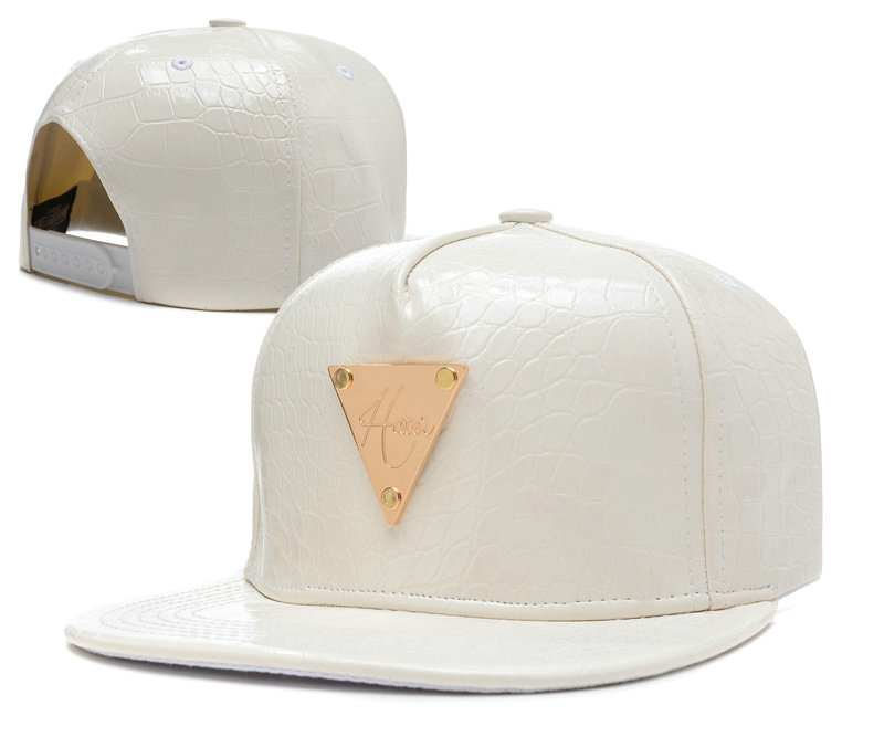 HATER White Snapback Hat SD