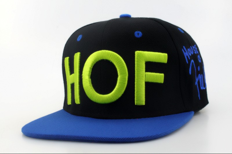 HOF house of field snapback hat qh