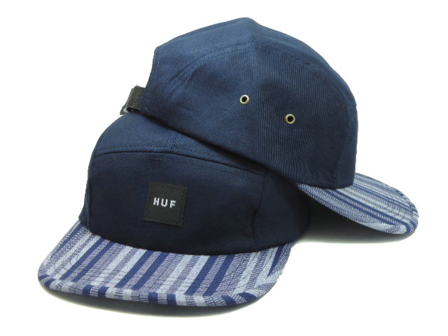 HUF 5 Panel Blue Snapback Hat SF 0512