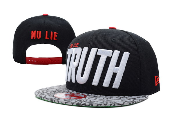 I am The Truth Snapbacks Hat XDF 04