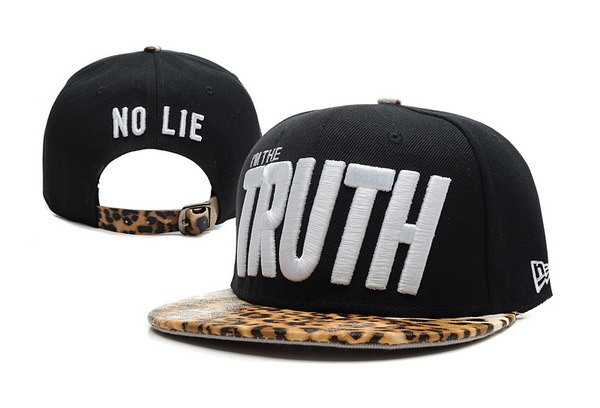 I am The Truth Snapbacks Hat XDF 10