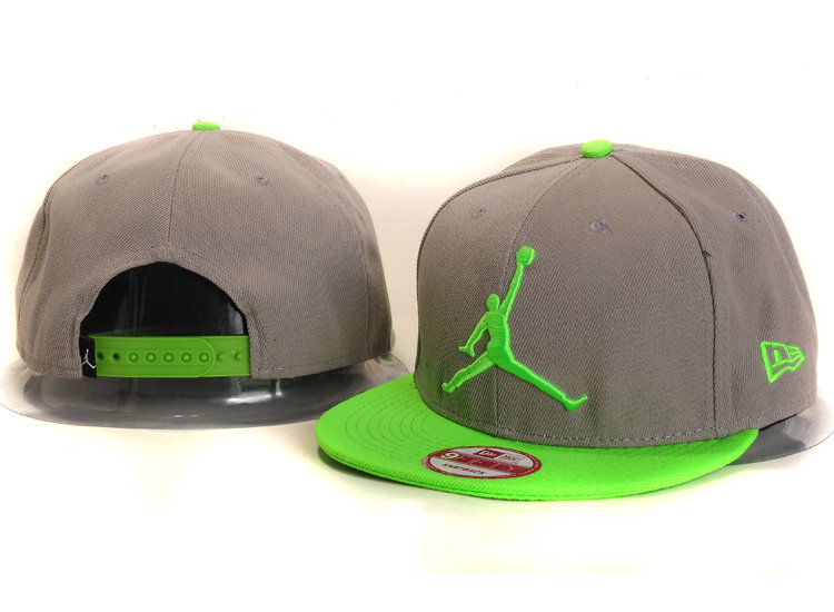 Jordan Grey Snapback Hat SF