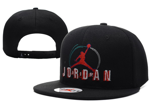 Jordan Retro 8 Jumpman Black Snapback Hat XDF 0613