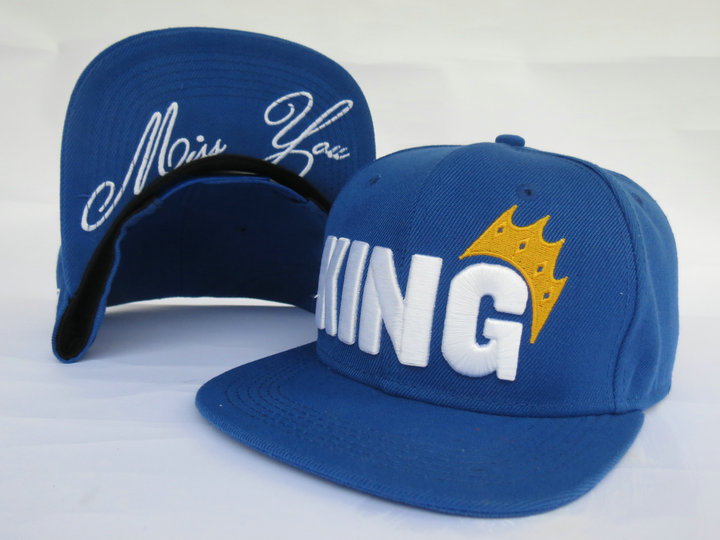 King Snapback Hat LS2
