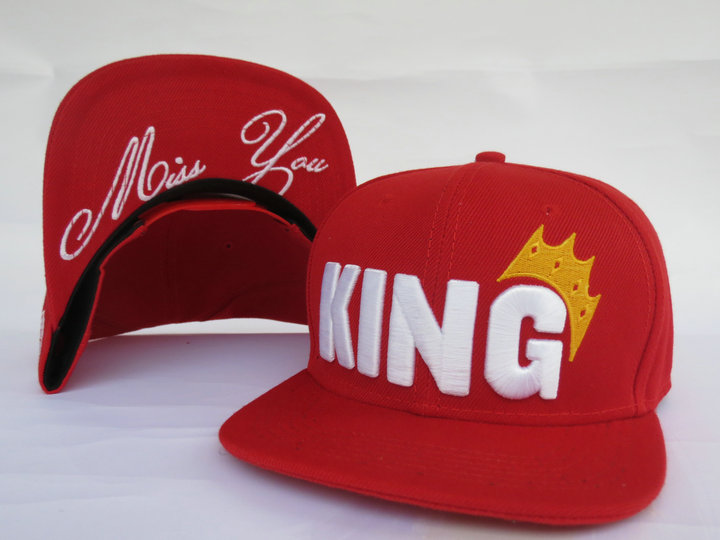 King Snapback Hat LS3