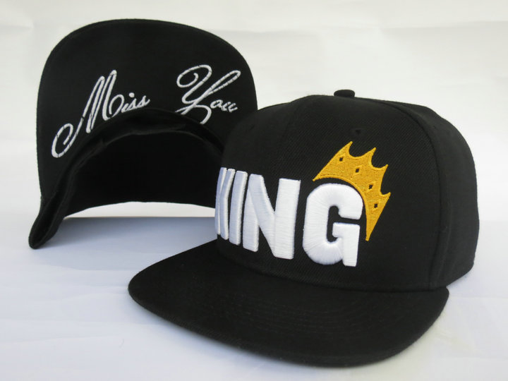 King Snapback Hat LS4