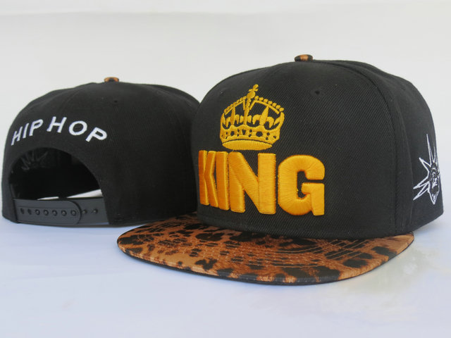 King Snapback Hat LS5