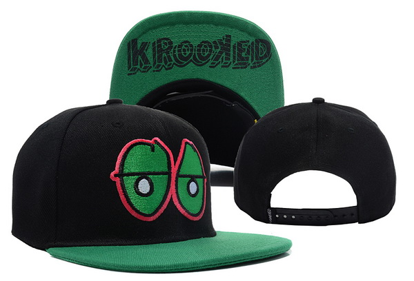Krooked Eyes Snapbacks Hat XDF 3