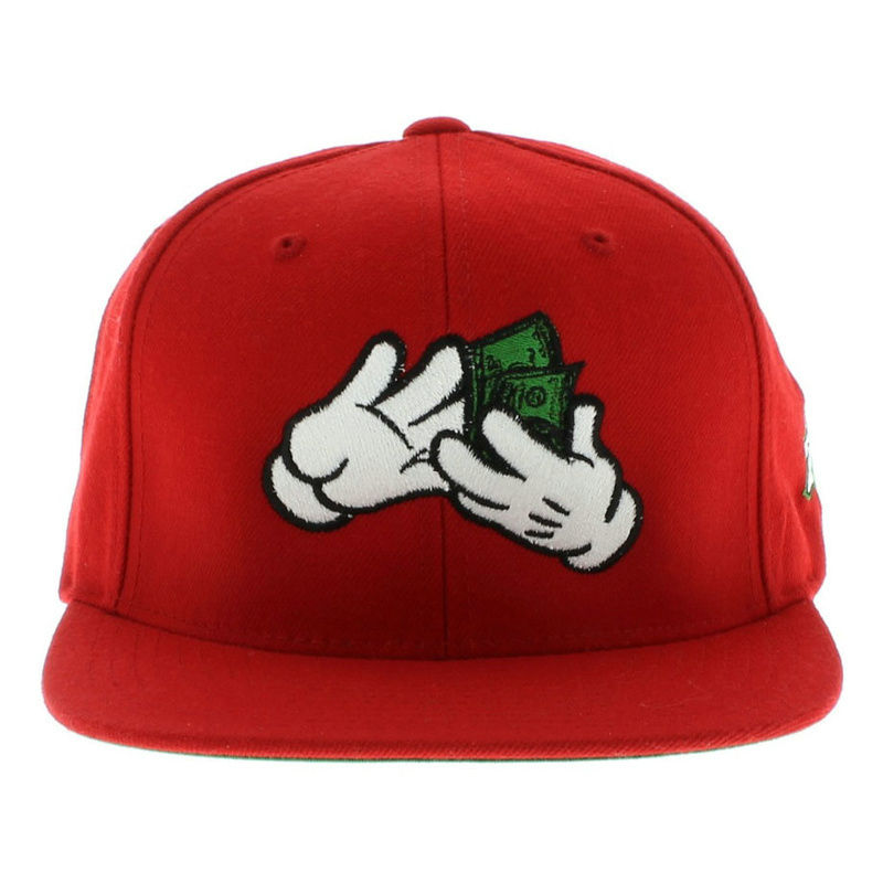 Large Paper Red Snapbacks Hat GF
