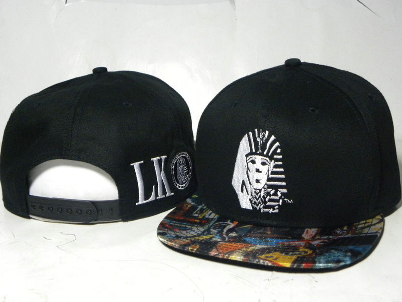 Last Kings Black Snapback Hat DD 2