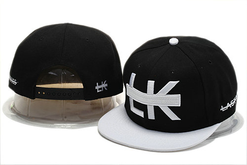 Last Kings Black Snapback Hat YS 0721