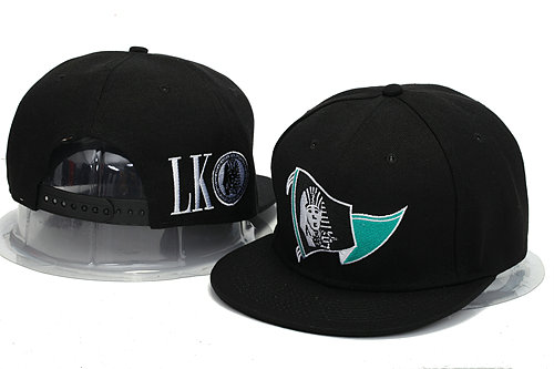 Last Kings Black Snapback Hat YS 1 0606