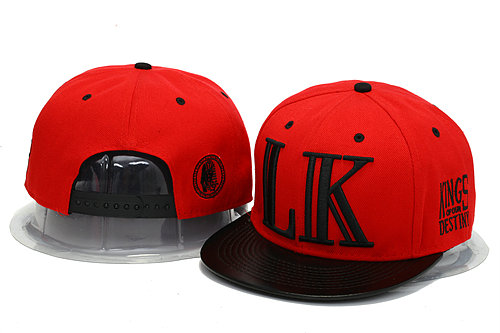 Last Kings Red Snapback Hat YS 1 0606