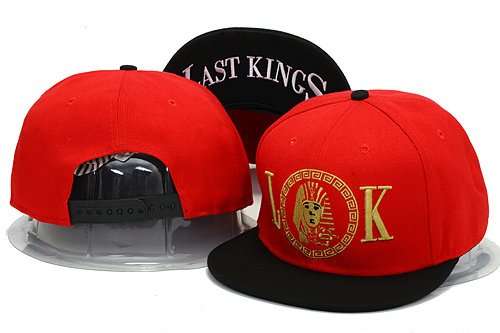 Last Kings Red Snapback Hat YS 2 0606