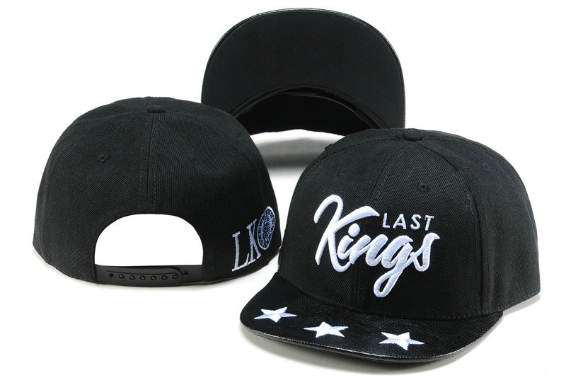 Last Kings Black Snapback Hat TY 1