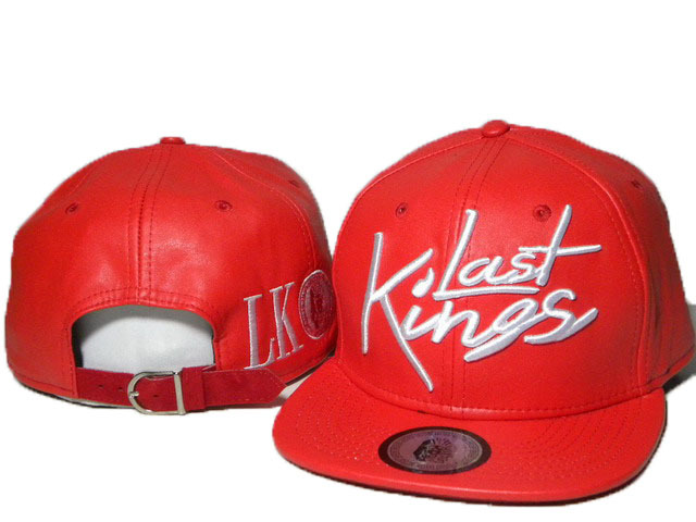 Last Kings Red Snapback Hat DD 0512