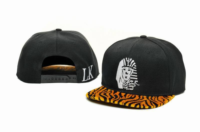 Last Kings Black Snapback Hat GF 1