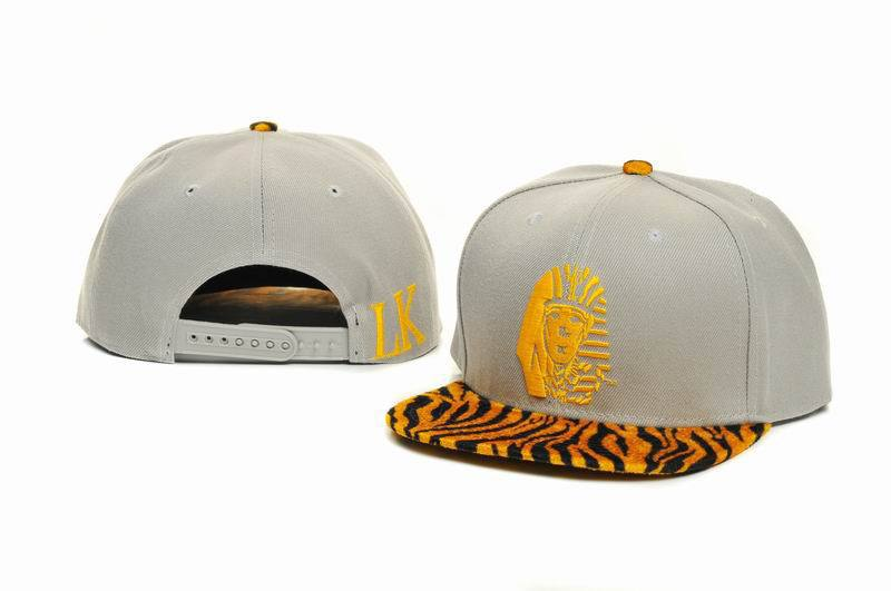 Last Kings White Snapback Hat GF 1
