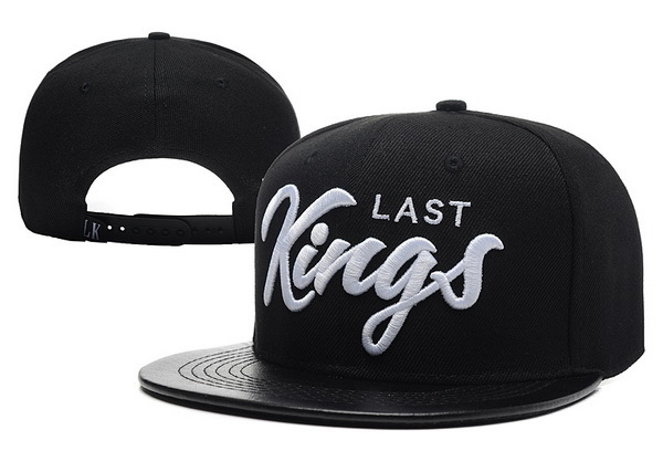 Last Kings Black Snapback Hat XDF 0613
