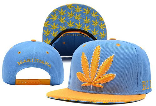 Marijuana Snapbacks Hat XDF 2