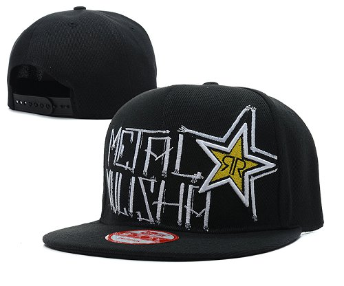 Metal Mulisha Rockstar Snapback Hat SD4