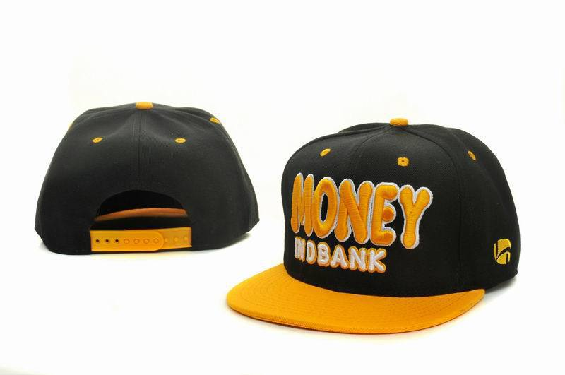 Money Black Snapbacks Hat GF 2