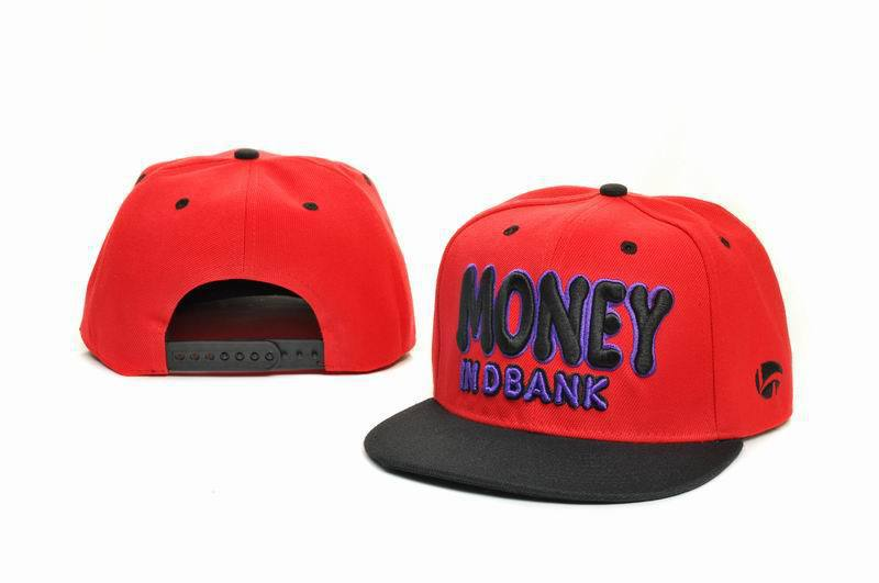 Money Red Snapbacks Hat GF 1