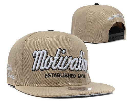 Motivation Snapback Hat SD3